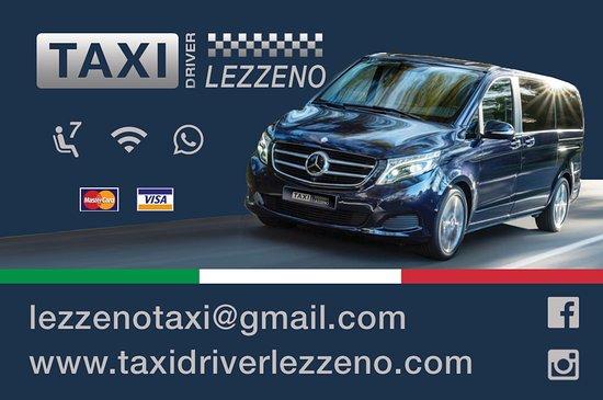 ليزينو, إيطاليا: Taxi driver lezzeno 