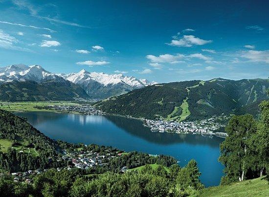Privat tur til Zell am See & moro i Østerrikes breesnø fra München