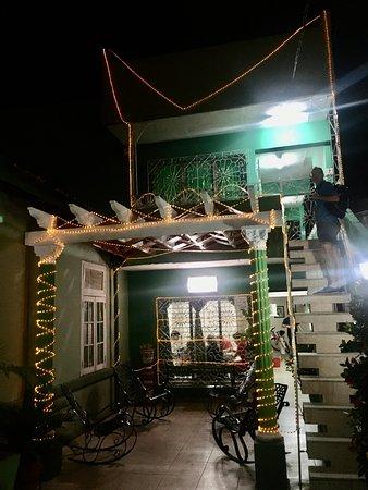 Garcia House in Cienfuegos. Christmas time!