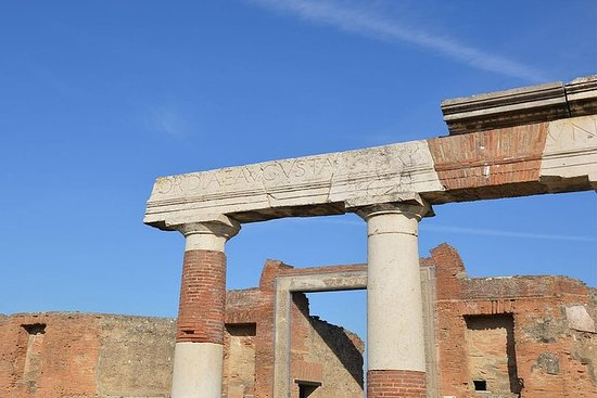 Ancient Pompei in the afternoon Resmi
