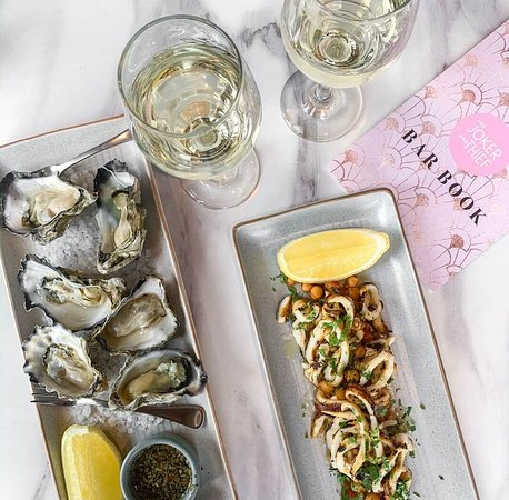 Oysters and Calamari