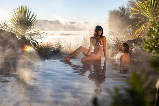Geothermal Lakeside Bathing Experience - Deluxe Lake Spa Photo