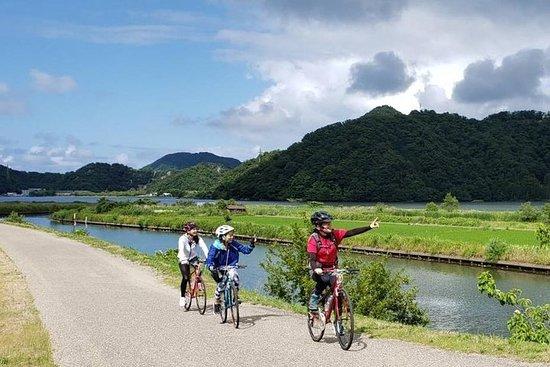 Kinosaki Onsen sykkeltur Kinosaki & elveopplevelse