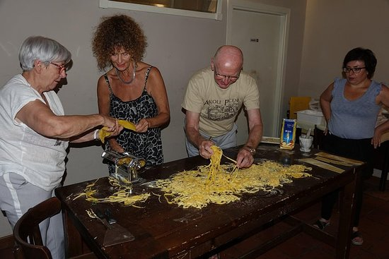 Cours de cuisine italienne (groupe...