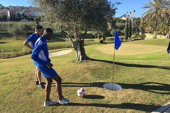 9 holes of Footgolf at El Campanario for persons older than 14 years.