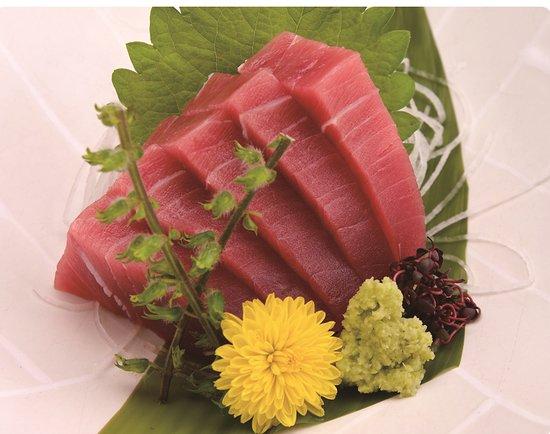まぐろのお造り tuna sashimi