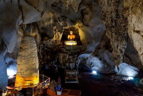 Avontuur in mysterieuze grotten, hete ...