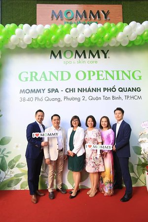 Khai trương Mommy Spa CN Phổ Quang