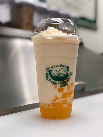 A great selection of authentic boba teas and Hong Kong bubble waffles!