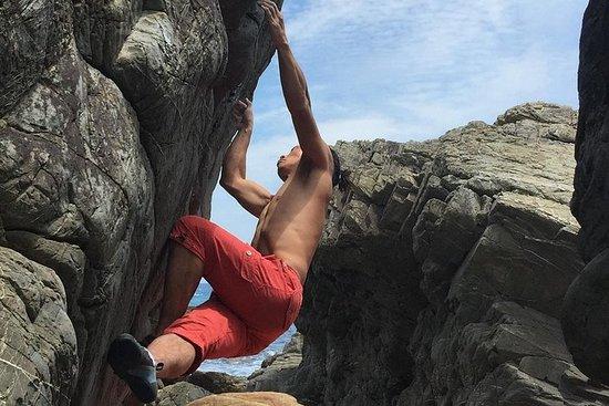 Klatre opp i klippene til Yakushima! Utendørs buldring utleiematte
