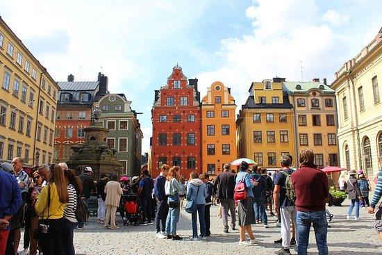 Passeio a pé Estocolmo: Cidade Velha