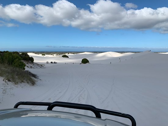 A recent day trip to Atlantis Sand Dunes near Cape Town had us exploring the white sands while enjoying some incredible views over the ocean and Table Mountain in the distance