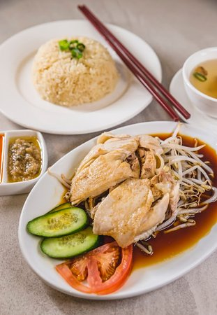 Lane Cove North, Australie : Hainanese Chicken Rice