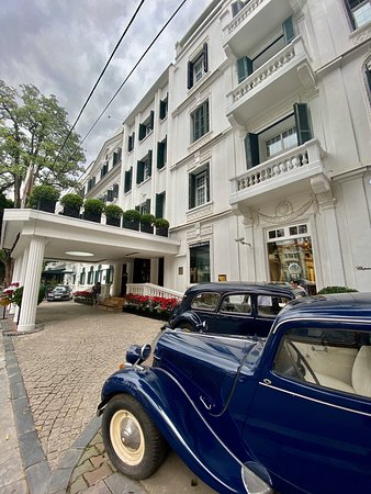 Elegant Hotel in the heart of Hanoi with historical architecture. First class customer service.   Highly recommend ❤️