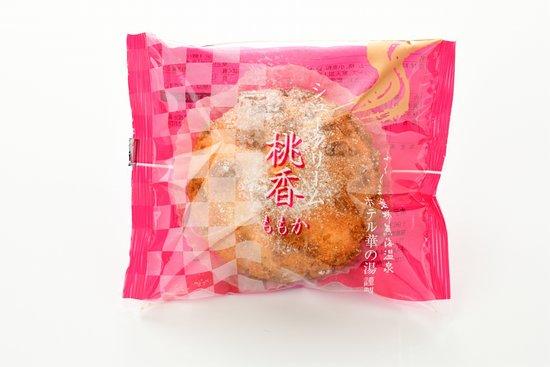 オリジナルスイーツ シュークリーム「桃香」