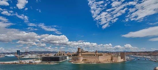 Marsella, Francia: View from Pharo Palace