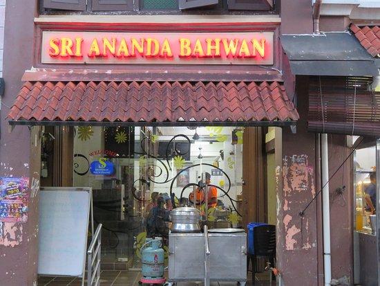 Malaysia: Penang, Georgetown; Restaurant Sri Ananda Bhawan