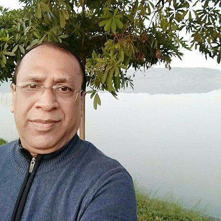 Myself standing at Nerul Lake