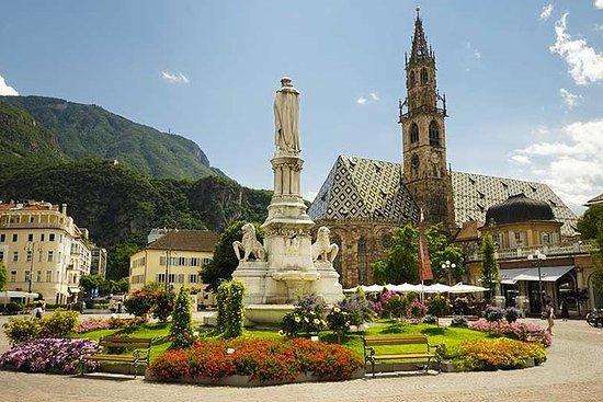 Visite guidée d'une journée du lac de Garde à Bolzano et au plateau...
