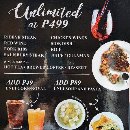 The First and Only Unlimited Steak and Wine in Bulacan