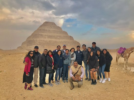 Touring Egypt with my Group from usa