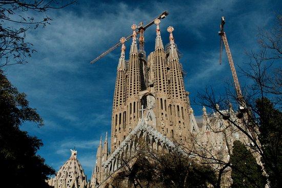 Basilica of the Sagrada Familia Admission Ticket: L'extérieur de la Sagrada Familia