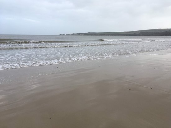 magnificent beach on Christmas Day
