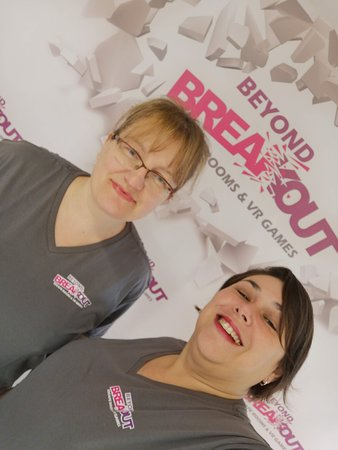 Owners Jo and Lorna