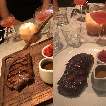 The drop in standards at Gordon Ramsay Bar and Grill Mayfair. Left hand side is 12 months ago when it was Maze grill, if I can save one person from wasting their money here my mission is complete.