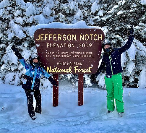 Jefferson Notch Sign!