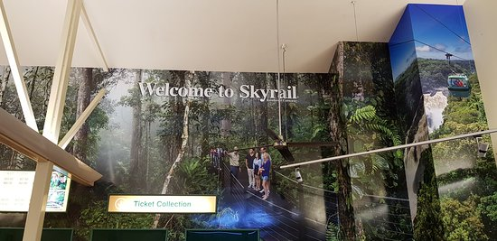 The SkyRail ride.