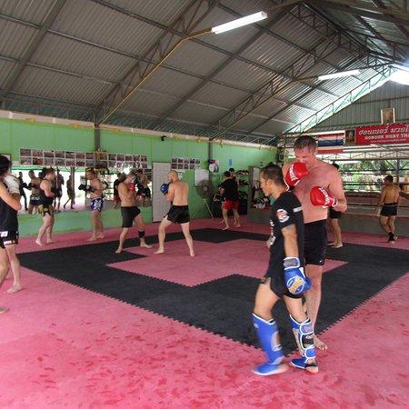 Muay Thai Training in Thailand