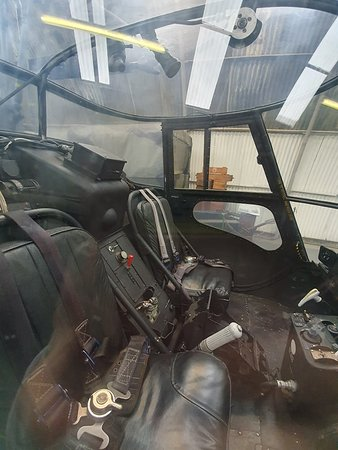 Another view inside helicopter