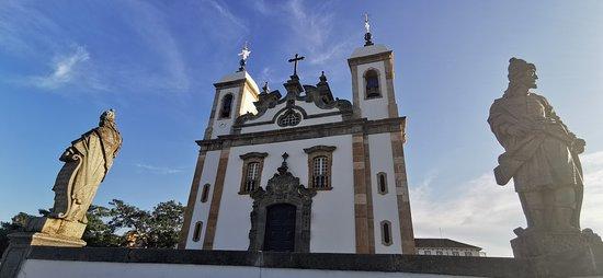 Visão para a Basílica do Senhor Bom Jesus de Matosinhos