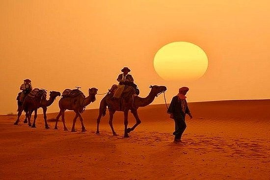 Kleine Gruppe Fes Sahara 2-tägige Tour