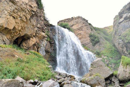 步行到Trchkan瀑布