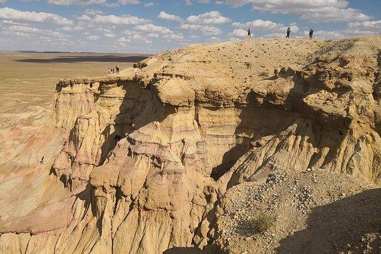 Majestic Gobi Desert avec nuit dans...