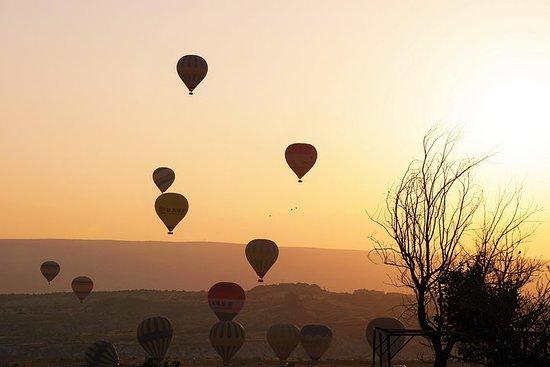 Vol en montgolfière et visite privée...