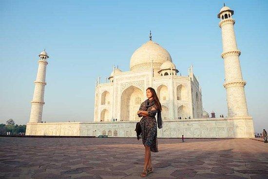 私人旅游:斋浦尔至泰姬陵阿格拉一日游