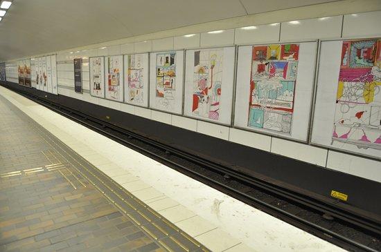 Provincia de Estocolmo, Suecia: шведское метро