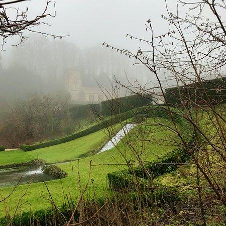 Dyrham Park, The West Cascade & Pool Gardens