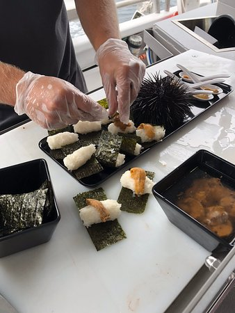 Deep-to-Dish: Tasmanian Seafood Experience - Afternoon Tour: Sea Urchin, raw and as Sushi