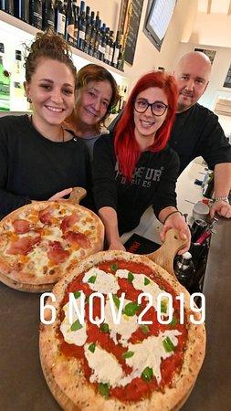 Pizzeria creativa, dessert, pizzaiole belle e brave!