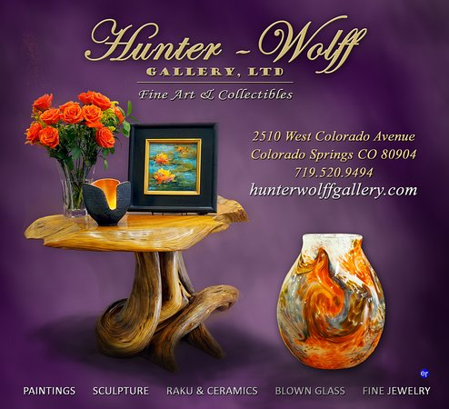 Hunter-Wolff Gallery, Ltd  Fine Art and Collectibles