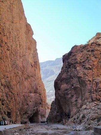 峡谷の様子