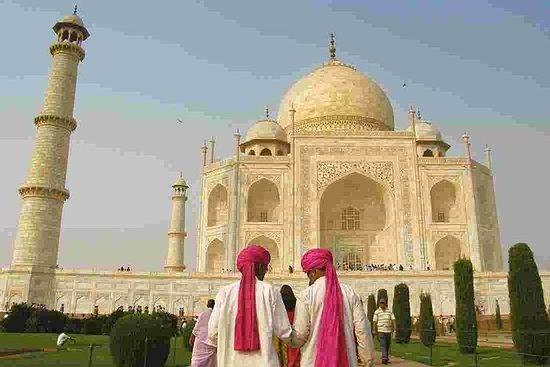 Fortement recommandé: visite du Taj...