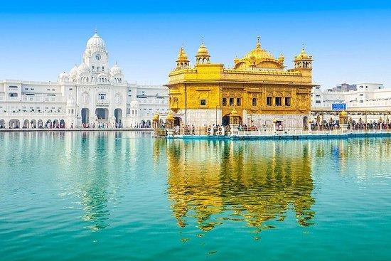 Goldener Tempel (Amritsar) mit Wagah...