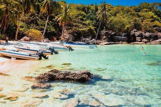 發現富國島:指甲,Gam Ghi和May Rut Isand
