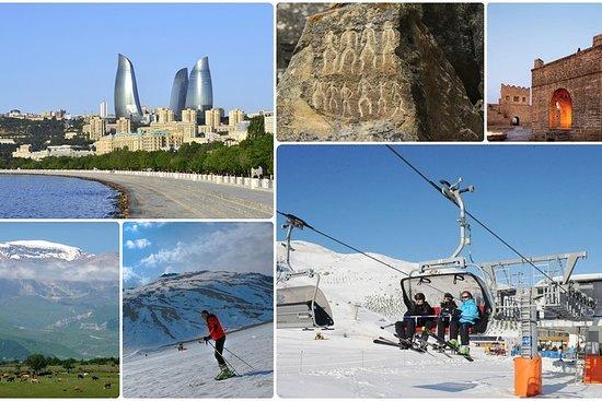 Excursões em Guba e Shahdag