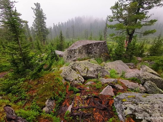Ergaki, รัสเซีย: По пути на висячий камень